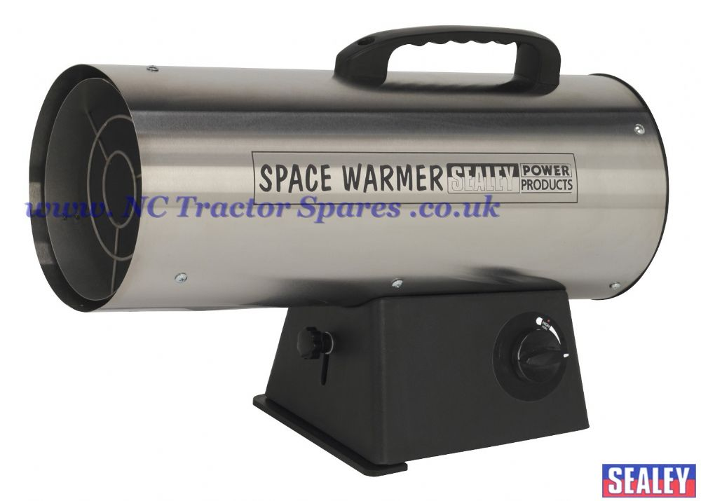 Space Warmer Propane Heater 42,000Btu/hr - Stainless Steel